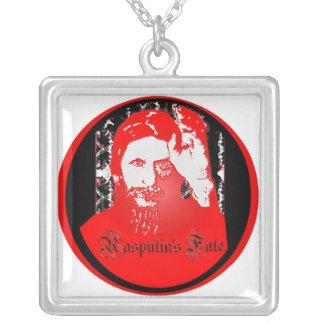 Rasputinの運命 シルバープレートネックレス