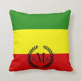 Rastafarianのプライドの旗 クッション