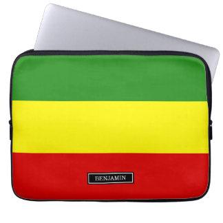 Rastafarianのプライドの旗 ラップトップスリーブ