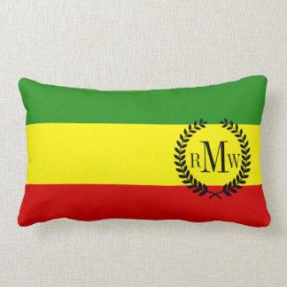 Rastafarianのプライドの旗 ランバークッション
