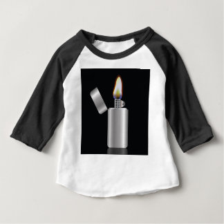 _rasterized 104Lighter ベビーTシャツ
