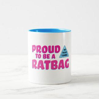 Ratbagのマグがあること誇りを持った ツートーンマグカップ