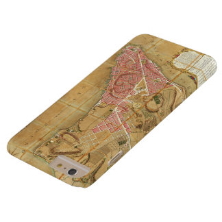 Ratzer NYCの地図のiPhone6ケース Barely There iPhone 6 Plus ケース