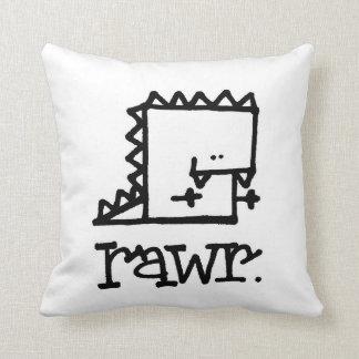 Rawrの恐竜のMeeppleの枕 クッション