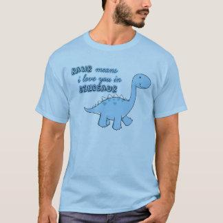 rawrの恐竜のTシャツ Tシャツ