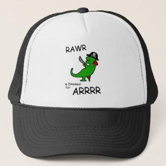 RAWRはですARRR (海賊恐竜)のための恐竜 キャップ