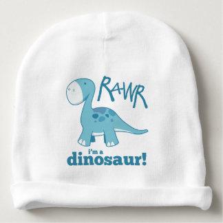 RAWR私は恐竜のかわいく青いディプロドクスです ベビービーニー