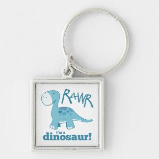 RAWR私は恐竜のディプロドクスの報酬Keychainです キーホルダー