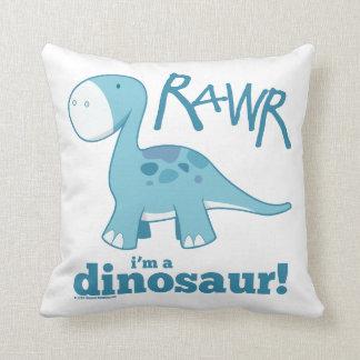 RAWR私は恐竜の装飾用クッションです クッション