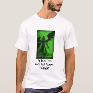 Rawr-1、TimeLetの公正なAssumeI'mの権利を救うため Tシャツ