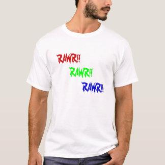 RAWR!! 、RAWR!! 、RAWR!! Tシャツ