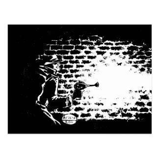 RaygunのNoir郵便はがき、ミハエルAvolio著アートワーク ポストカード
