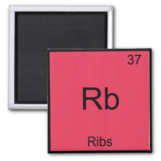 RB -おもしろいな肋骨化学要素の記号 マグネット