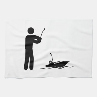 RCのボート キッチンタオル