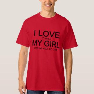 RCは私がRC車を競争させることを可能にします Tシャツ