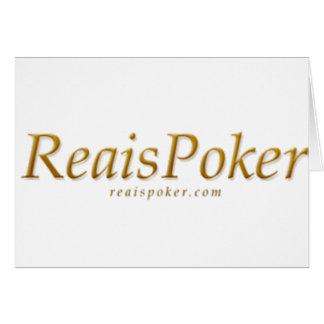 Reaispoker カード