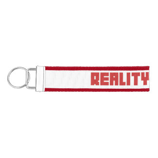 REALITY-RADIO.comの手首のキーホルダー リストバンドキーホルダー