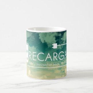 Recarga Venid Y Reposad国連Poco Tazaスペイン人のマグ コーヒーマグカップ