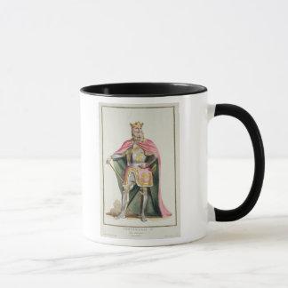 「ReceuからのアラゴンのフェルディナントIの(1379-1416年の)王 マグカップ