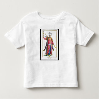 「Receuil des EstamからのGenghis Khan (c.1162-1227) トドラーTシャツ