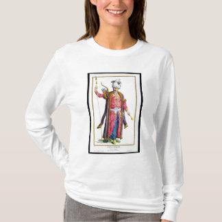 「Receuil des EstamからのGenghis Khan (c.1162-1227) Tシャツ