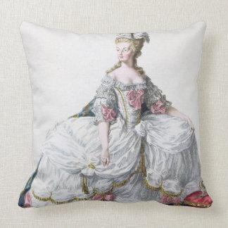 「Receuil des EstamからのMarieアントワネット(1752-93年) クッション