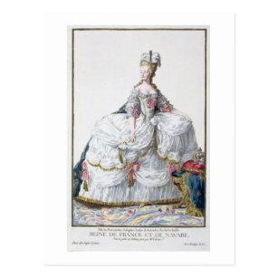 「Receuil des EstamからのMarieアントワネット(1752-93年) ポストカード