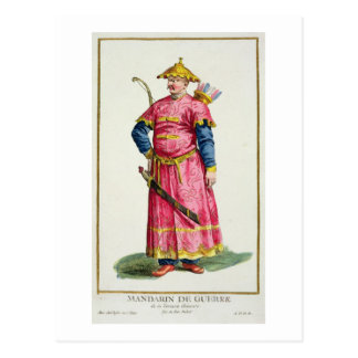 「Receuil des Estampes、Repからのマンダリンの将軍 ポストカード