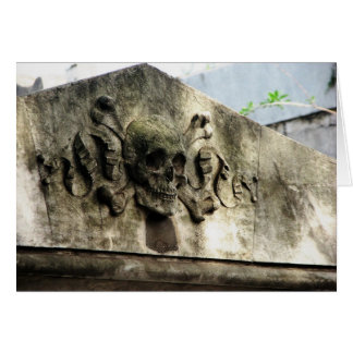 Recoletaの墓地、ブエノスアイレス、アルゼンチン カード