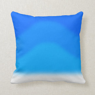 Recolourableの背部が付いている青い創造物パターン クッション