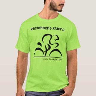 Recumbentライダーのバイク Tシャツ