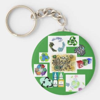 recycle2のリサイクル、2、3、4、6、7、8、9、11 キーホルダー