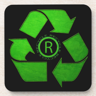 Recycle Logo by Shirley Taylor コースター