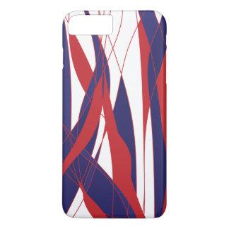 Red&Blueの携帯電話の箱 iPhone 8 Plus/7 Plusケース