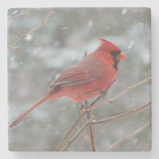 Red Cardinal ストーンコースター