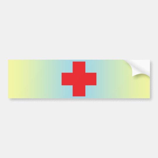 Red Cross バンパーステッカー