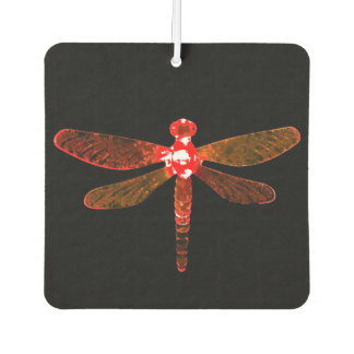 Red Dragonfly Car Air Freshener カーエアーフレッシュナー