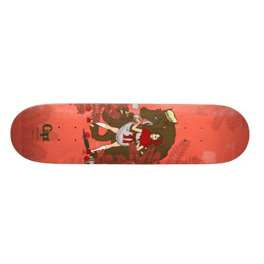 red hood 18.1cm オールドスクールスケートボードデッキ