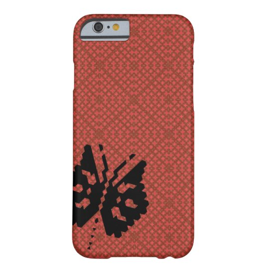 red insect barely there iPhone 6 ケース