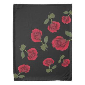 Red rose duvet 掛け布団カバー