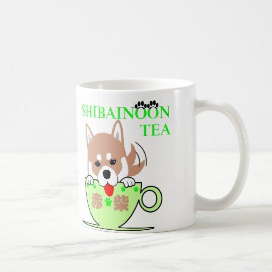 Red Shiba Inu コーヒーマグカップ