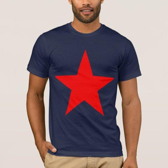 Red star 1 tシャツ