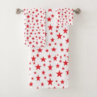 Red Stars バスタオルセット