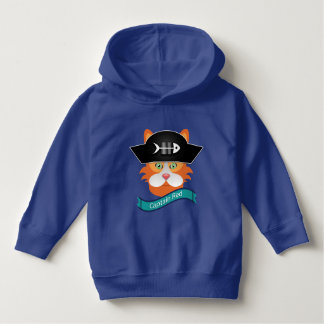 Red- Toddler Pullover Hoodie大尉の パーカ