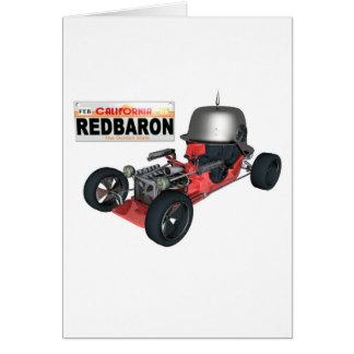 RedBaron グリーティングカード