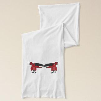 Redbirdsのおもしろいな話すスカーフ スカーフ