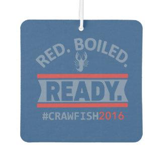 #RedBoiledReady車の芳香剤 カーエアーフレッシュナー