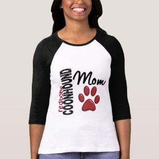 RedboneのCoonhoundのお母さん2 Tシャツ