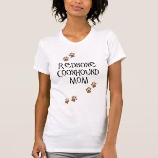 RedboneのCoonhoundのお母さん Tシャツ