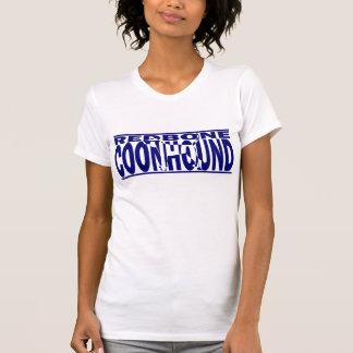 RedboneのCoonhoundのシルエット Tシャツ